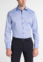 Load image into Gallery viewer, Eterna Modern Fit Shirt Blue 8100/12