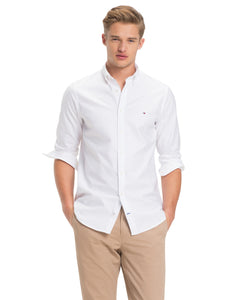 Tommy Hilfiger Slim Fit Oxford Shirt White