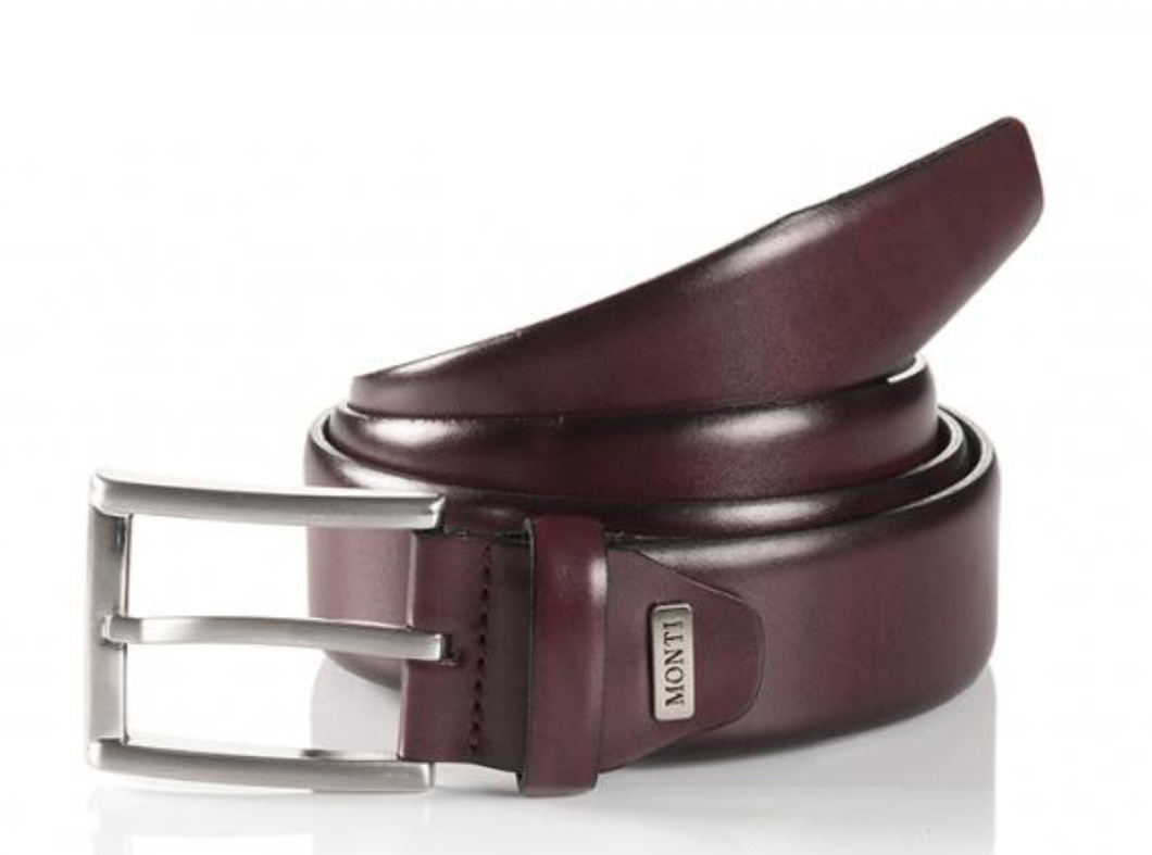 Monti London Belt Bordeaux