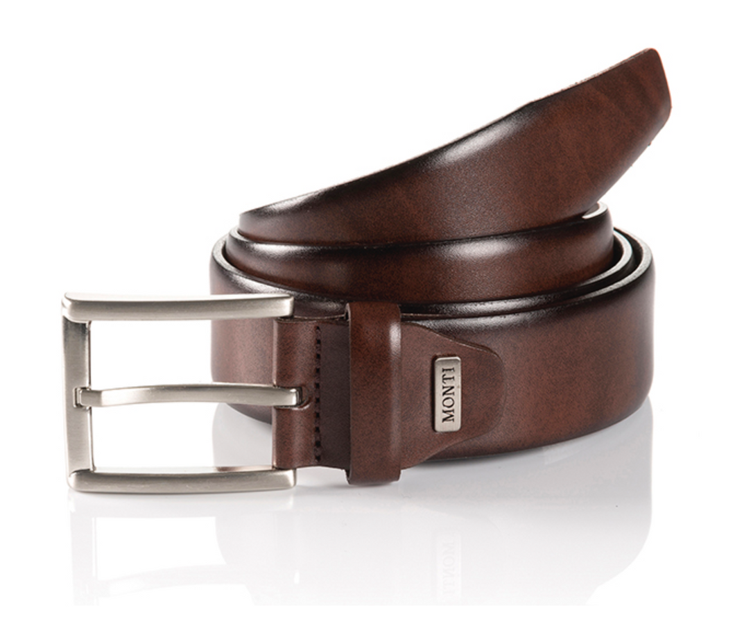 Monti London Belt Brown - JR MCMAHON EXCLUSIVE MENSWEAR