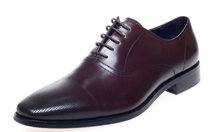 Load image into Gallery viewer, John White Bay Brown Capped Oxfords