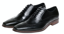 Load image into Gallery viewer, John White Hercules Black Oxford Brogue