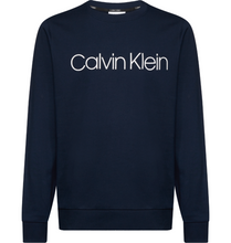 Load image into Gallery viewer, Calvin Klein Logo Sweat Navy