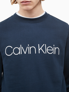 Calvin Klein Logo Sweat Navy