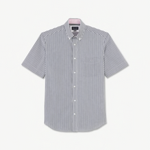 Load image into Gallery viewer, Eden Park Navy Stripe Short Sleeve