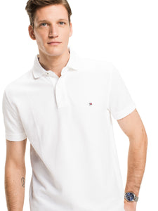 Tommy Hilfiger White Polo Regular Fit