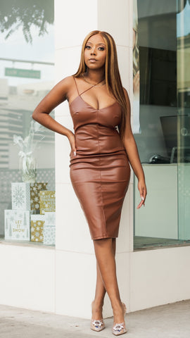 Hot Chocolate | Midi Dress