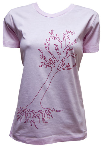 Autumn Tree Organic Cotton T-shirt (women's)