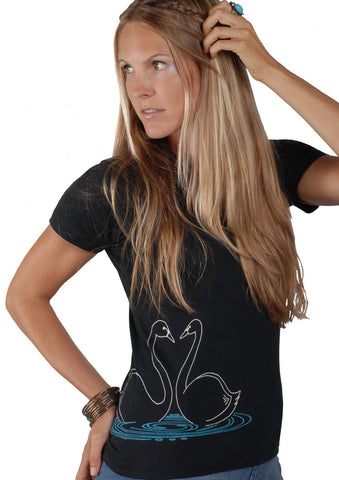 Swan Organic Cotton T-shirt