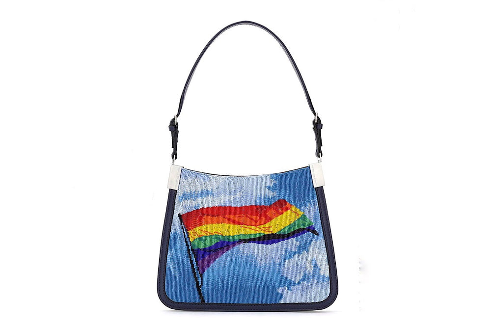 Starry Bag Rainbow Flag