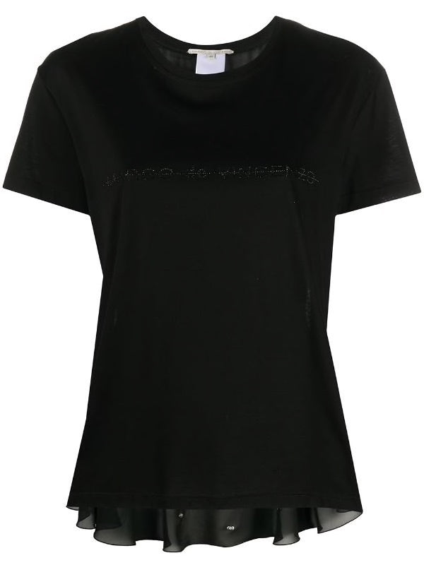 T-shirt logo strass