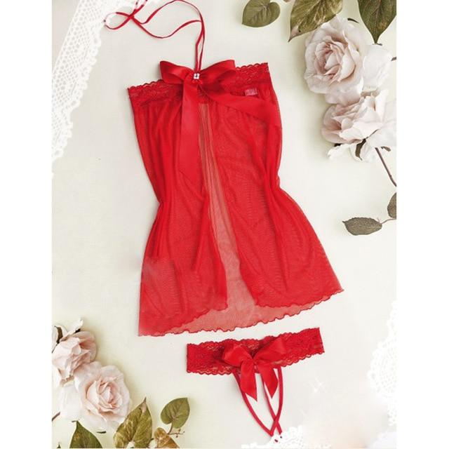 Babydoll Chemise Dress with Underwear | Sexy Lingerie Canada