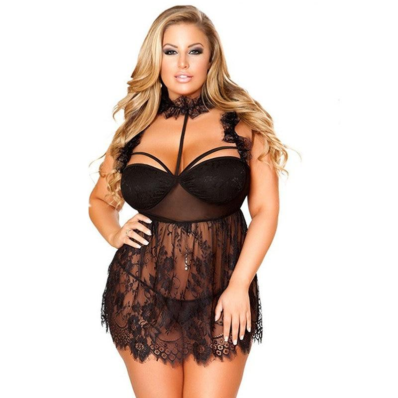 Babydoll Lace Sexy Lingerie Dress | Sexy Lingerie Canada