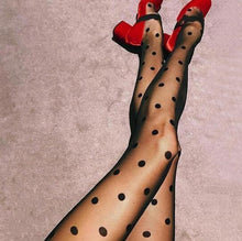 Load image into Gallery viewer, Big Dots Sexy Stockings Pantyhose | Sexy Lingerie Canada