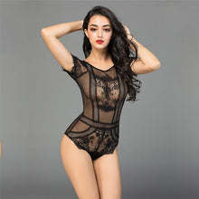 Load image into Gallery viewer, Black Lace Sexy Nightwear | Sexy Lingerie Canada