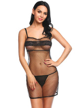 Load image into Gallery viewer, Dot Transparent Lingerie | Sexy Lingerie Canada