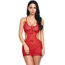 Load image into Gallery viewer, Floral Lace Erotic Babydoll Nightwear | Sexy Lingerie Canada