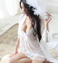 Load image into Gallery viewer, Fun Transparent Strap Babydoll Nightdress | Sexy Lingerie Canada