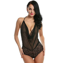 Load image into Gallery viewer, Lace Babydoll Halter Sleepwear | Sexy Lingerie Canada