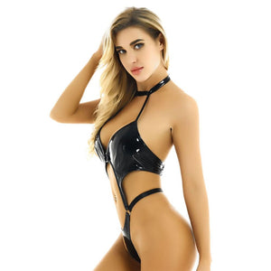 One-piece Leather Lingerie | Sexy Lingerie Canada