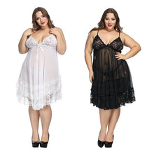 Load image into Gallery viewer, Plus Size Babydoll Sleepwear | Sexy Lingerie Canada