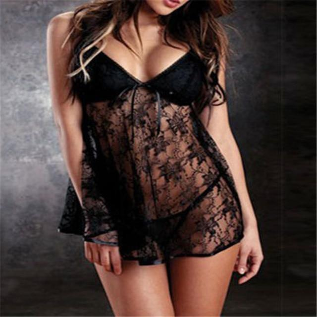 Plus Size Lace Babydoll Dress | Sexy Lingerie Canada