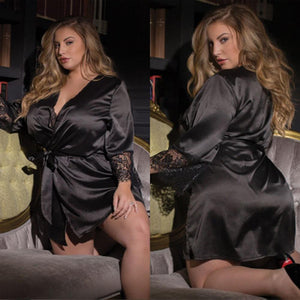 Plus Size Sexy Night Gown | Sexy Lingerie Canada
