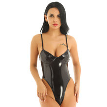 Load image into Gallery viewer, Womens Wetlook Catsuit Lingerie | Sexy Lingerie Canada