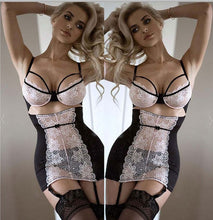 Load image into Gallery viewer, Women Sexy Lace Solid Lingerie