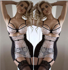 Women Sexy Lace Solid Lingerie