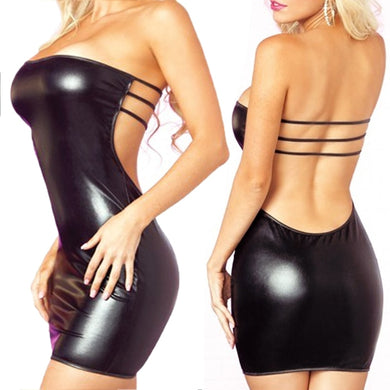 Women Sexy Leather Lingerie