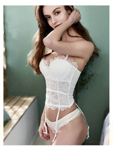 Women Sexy Floral Lace Bustiers Lingerie | Sexy Lingerie Canada