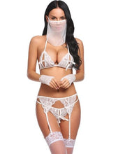 Load image into Gallery viewer, Women Sexy 5 Piece Lingerie Lace Bra Set | Sexy Lingerie Canada