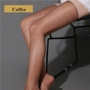Women Sexy Oil Shine Thigh High Stockings | Sexy Lingerie Canada