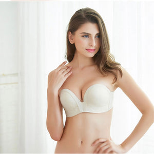 Women Sexy Lace Invisible Seamless Push Up Bra | Sexy Lingerie Canada
