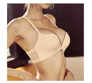 Women Wireless Front Closure Comfort Push Up Adjusted Bra | Sexy Lingerie Canada