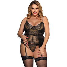 Load image into Gallery viewer, Women Plus Size Transparent Lace Lingerie | Sexy Lingerie Canada