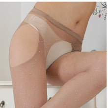 Load image into Gallery viewer, Women Rhinestone Thigh High Stockings | Sexy Lingerie Canada