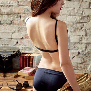 Women Solid Backless Push Up Bra | Sexy Lingerie Canada
