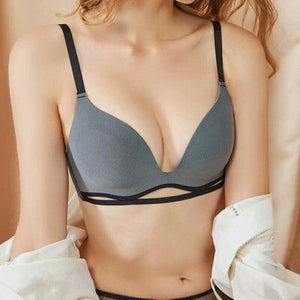 Women Soft Comfortable Wire Free Hollow Out Bra | Sexy Lingerie Canada