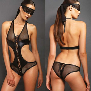 Women SM Cosplay Sexy Lingerie PU Leather | Sexy Lingerie Canada