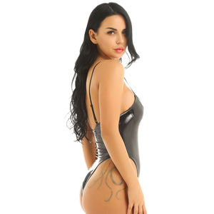 Womens Wetlook Catsuit Lingerie | Sexy Lingerie Canada