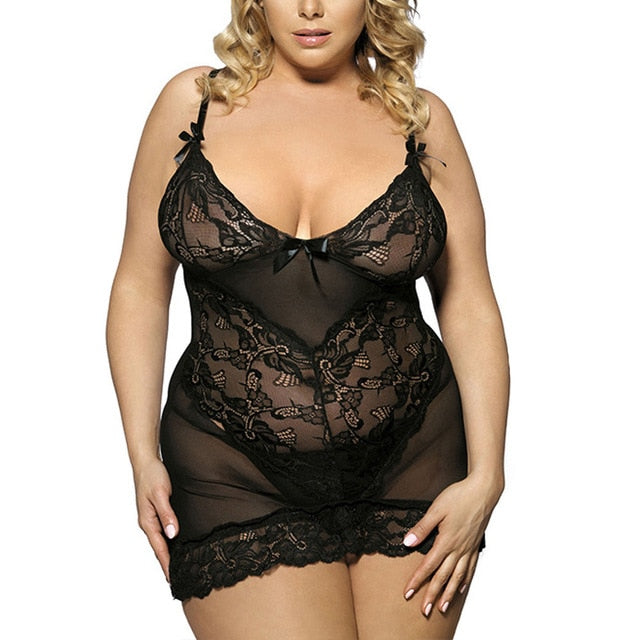 Women Sexy Lingerie Sleepwear Dress