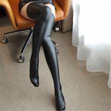 Load image into Gallery viewer, PU Leather Cosplay Knee High Stockings | Sexy Lingerie Canada