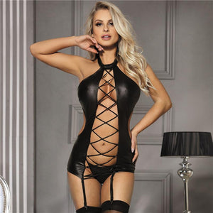 PU Leather Dress | Sexy Lingerie Canada