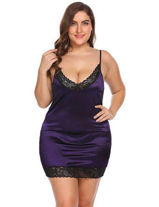 See Through Lace Lingerie Nightdress | Sexy Lingerie Canada