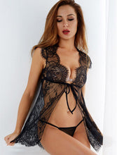 Load image into Gallery viewer, Sexy Lace Transparent Babydoll Lingerie | Sexy Lingerie Canada