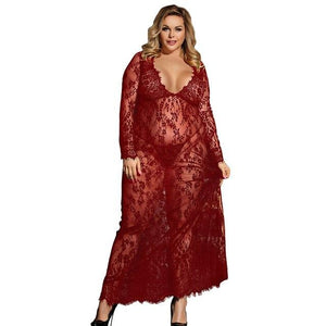 Sexy Lingerie Erotic Long Sleeve Dress | Sexy Lingerie Canada