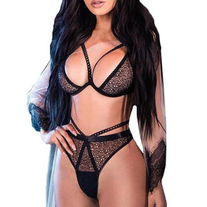 Sexy Lingerie Plus Size Bra Set | Sexy Lingerie Canada