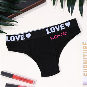 Sexy LOVE Letter Seamless Panties | Sexy Lingerie Canada